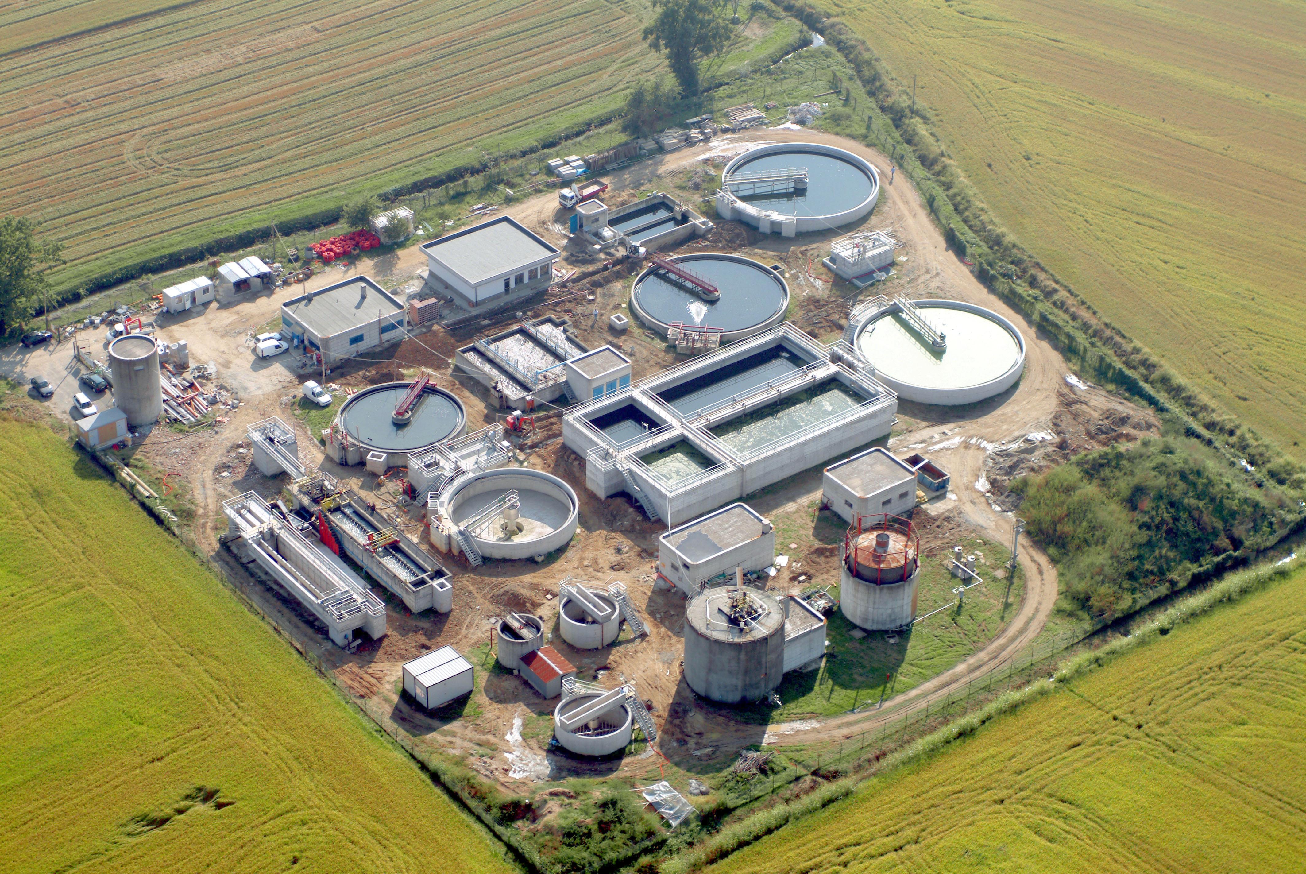 Impianto di depurazione di Binasco (MI)