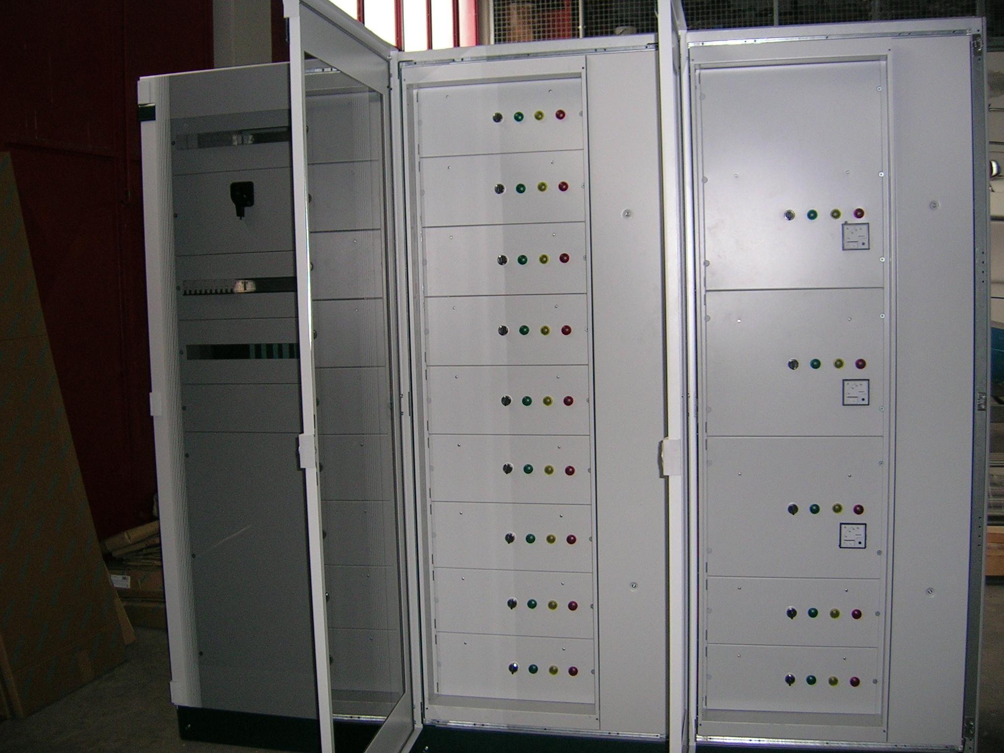 Quadri elettrici impianto di depurazione Santeramo in Colle (BA)