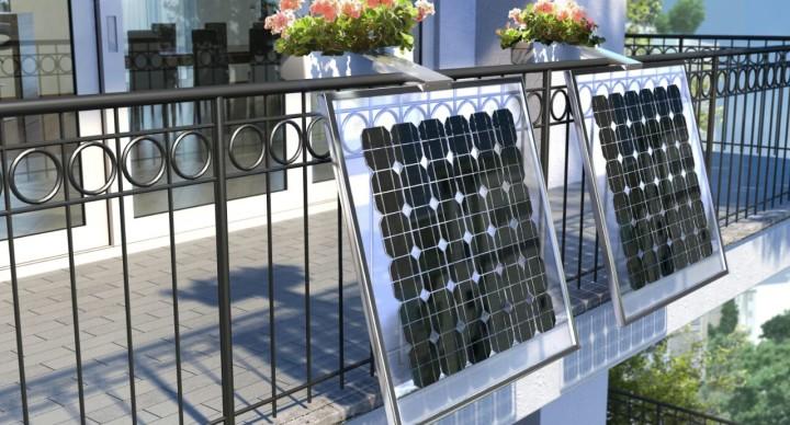 Ri-ambientando lancia il pannello fotovoltaico da balcone con porta fiori!